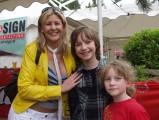 Alina Lena mit Raphael und Darian